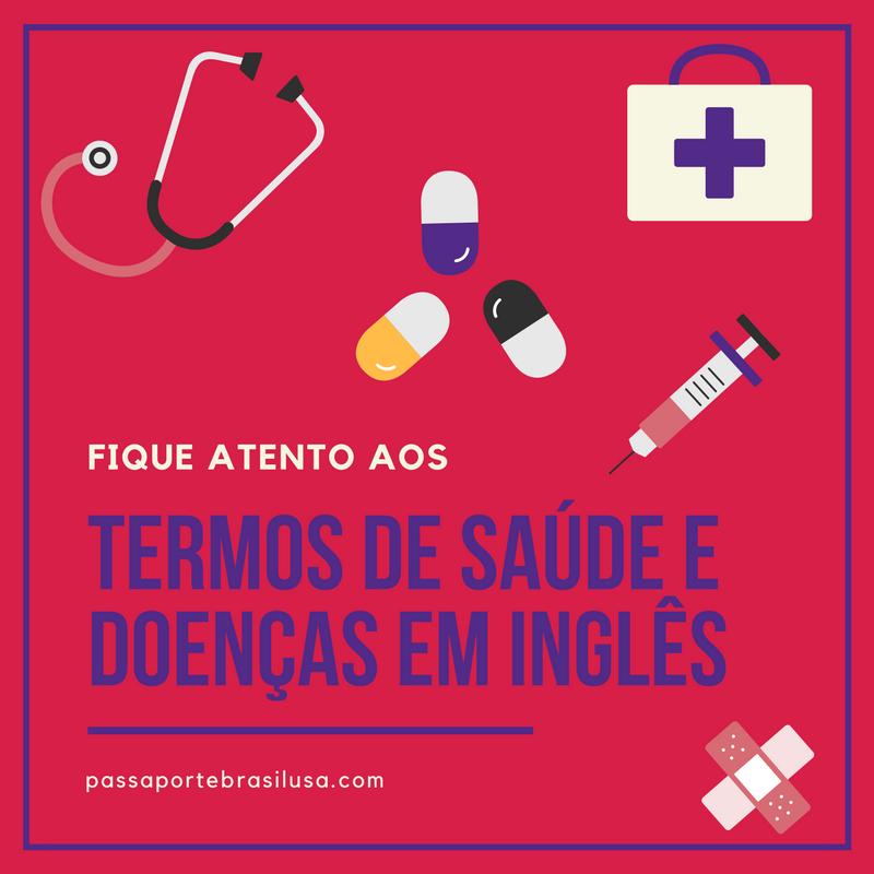 termos de saúde em ingles