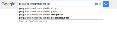 brasileiros pensam dos americanos