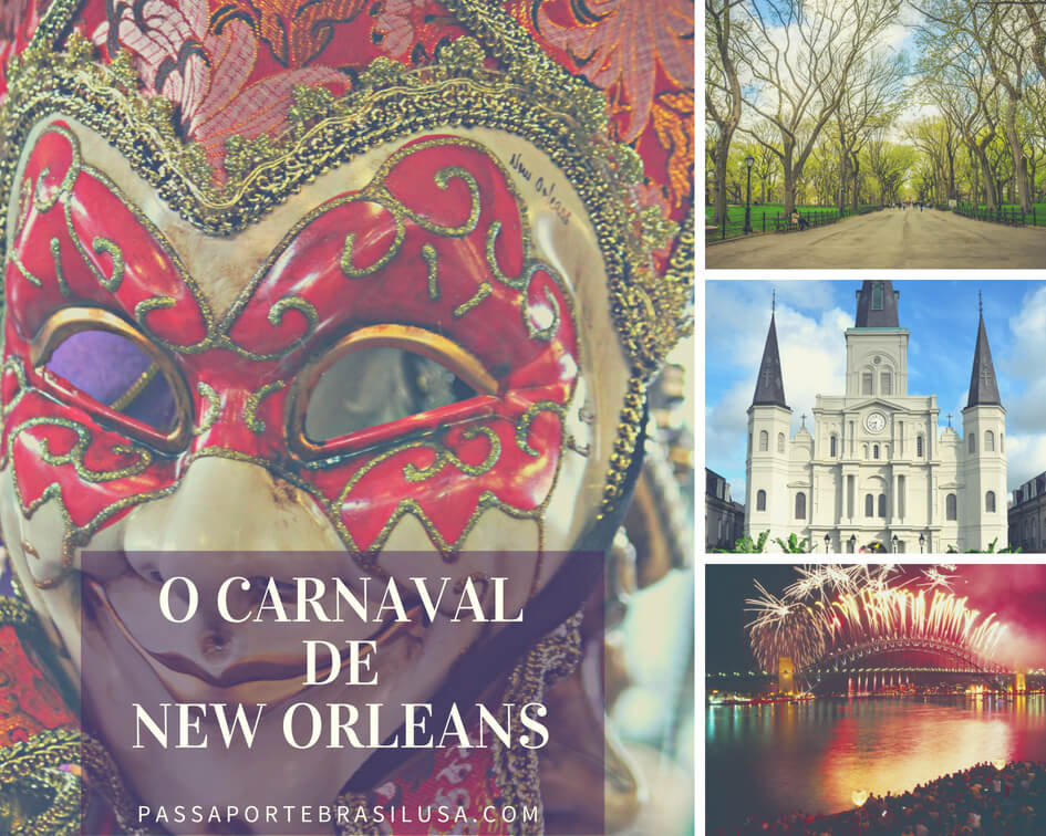 carnaval em Nova Orleans