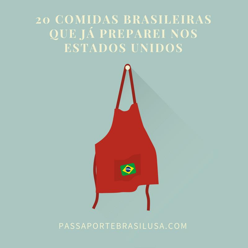 comidas brasileiras que você pode fazer nos EUA